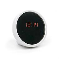 kreatív mute asztali óra elektronikus óra led óra szépség ébresztőóra tükörrel (vegyes szín)