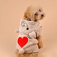 abordables Gadgets para Casa y Despacho-Gato Perro Disfraces Saco y Capucha Ropa para Perro Bonito Cosplay Oso Gris Marrón Disfraz Para mascotas