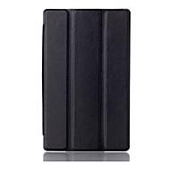 레노버 탭에 대한 자석 스탠드 커버 CSE 3 7.0 710 PU 가죽 커버 보호 케이스 710f 필수 tab3에