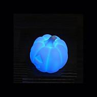 abóbora colorido que muda de cor criativo levou luz da noite das bruxas