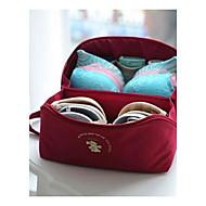 お買い得  トラベル小物-旅行かばん 旅行用洗面道具バッグ 旅行かばんオーガナイザー 携帯用 バッグ用小物 小物収納用バッグ のために クロス ブラジャー ファブリック / トラベル