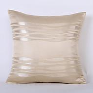 1 pezzi Tessuto sintetico Copricuscino, A strisce Contemporaneo moderno