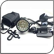 preiswerte Taschenlampen, Laternen & Lichter-Stirnlampen Fahrradlicht LED Cree XM-L T6 Radsport Wasserdicht Wiederaufladbar Stoßfest 18650 12000 Lumen BatterieCamping / Wandern /