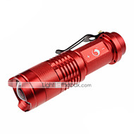 U'King ZQ-X904 LED Flashlights / Torch LED 700lm lm 3 Mode Cree XR-E Q5 Cree XP-E R2 Mini Adjustable Focus Nonslip grip Pocket Easy