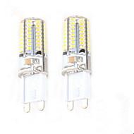 저렴한 -2.5W G9 LED Bi-pin 조명 C35 64 LED가 SMD 3014 장식 따뜻한 화이트 50-100lm 2700-3000K AC 220-240V