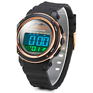 tanie Markowe zegarki-SKMEI Męskie Sportowy Zegarek na nadgarstek Zegarek cyfrowy Cyfrowe Alarm Kalendarz Słoneczny Wodoszczelny Świecący Stoper LCD Guma Pasmo