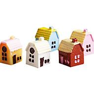 modelo&juguete de la muñeca del juguete del edificio
