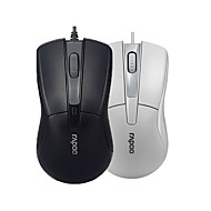 preiswerte Mäuse-orginal rapoo n1162 Maus usb 2.0 Pro-Gaming-Maus optische Mäuse für Computer-PC-Büro schwarz / weiß verdrahtet