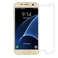 Недорогие Чехлы и кейсы для Galaxy S-Защитная плёнка для экрана для Samsung Galaxy S7 edge / S7 / S6 edge Закаленное стекло 1 ед. Защитная пленка для экрана 2.5D закругленные углы