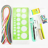 120PCS Quilling Paper DIY Craft Art Decoration Kit / 7PCS Set