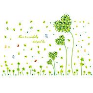 Botanic / Romantic / Natură moartă / Modă / Florale / Vacanță / Peisaj / Timp Liber Perete Postituri Autocolante perete plane,PVC