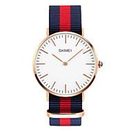 Недорогие Фирменные часы-SKMEI Мужской Модные часы Защита от влаги Повседневные часы Кварцевый Японский кварц Материал Группа Разноцветный