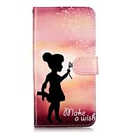Для Samsung Galaxy Note7 Бумажник для карт / Кошелек / со стендом / Флип / С узором Кейс для Чехол Кейс для Соблазнительная девушка Мягкий