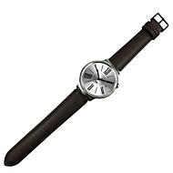 Zwart / Bruin Leer Klassieke gesp / Leren lus Voor Huawei Horloge 18mm