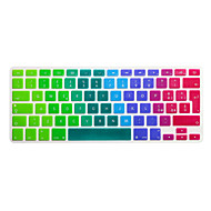 cheap Mac Accessories-Italian Language Colorful Silicone Keyboard Cover Skin for Macbook Air 13.3/Macbook Pro 13.3 15.4,EU version