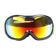 vidrios a prueba profesional de doble capa de niebla anti viento motocicleta gafas de esquí masculinos y femeninos