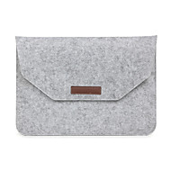 preiswerte Hüllen und Taschen für den Mac-Ärmel für Umschlag-Kasten Volltonfarbe Textil MacBook Pro 15 Zoll MacBook Air 13 Zoll MacBook Pro 13-Zoll MacBook Air 11 Zoll MacBook