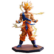 cheap Cosplay & Costumes-18CM Dragon Dall Z Action Figures Super Saiyan Son Goku PVC Collectible Toy Model