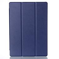 preiswerte Tablet Zubehör-Hülle Für Ganzkörper-Gehäuse / Tablet-Hüllen Solide Hart PU-Leder für