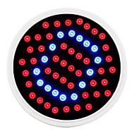 e27 5w 500lm 40red y 20blue smd60 bombillas led para sistema hidropónico de plantas con flores (85-265v)