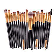 20PCS Pro Eyeshadow Makeup Brush Set Powder Foundation Eyeliner Lip Cosmetic Brush Set