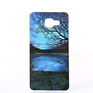 billige Galaxy A3(2016) Etuier-Etui Til Samsung Galaxy Samsung Galaxy etui Støvsikker Stødsikker IMD Bagcover Landskab Blødt TPU for A5(2016) A3(2016)
