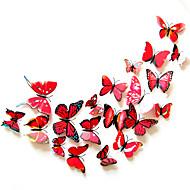 3D Wall Stickers Vliegtuig Muurstickers Decoratieve Muurstickers,Plastic Materiaal Verwijderbaar / Verstelbaar Huisdecoratie Muursticker