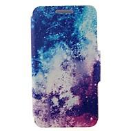 Для Кейс для Huawei / P9 / P9 Lite Бумажник для карт / со стендом Кейс для Чехол Кейс для Пейзаж Твердый Искусственная кожа HuaweiHuawei