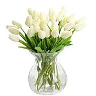 povoljno -1 Podružnica Svila PU Tulips Cvjeće za stol Umjetna Cvijeće
