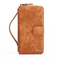Назначение iPhone 8 iPhone 8 Plus Чехлы панели Бумажник для карт Кошелек Защита от удара Защита от пыли со стендом с окошком Зеркальная