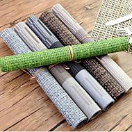 απλά ευρωπαϊκά στυλ πλαστικό placemat αδιάβροχο αντιολισθητικό δυτικό μαξιλάρι μαξιλαροθήκες anti-hot mat