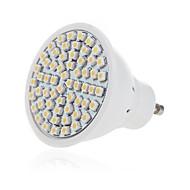 お買い得  LED スポットライト-1個 5 W 350 lm GU10 / GU5.3 LEDスポットライト 60 LEDビーズ SMD 2835 装飾用 温白色 / クールホワイト 220-240 V / RoHs