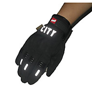 cheap Motorcyle Covers-Riding Full Finger Touch Gloves Reflective Nontoxic Odorless Slip Resistant Breathable Waterproof