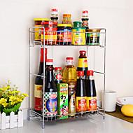 お買い得  収納&整理-キッチン組織 ラック&ホルダー ステンレス 使いやすい 1個