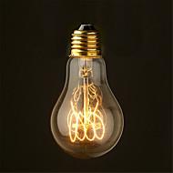 40w 2700k vintage edison lampa a19 antika glödlampor glödlampor medium (ac220-240v)