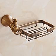 お買い得  浴室用小物-ソープディッシュ&ホルダー アンティーク 真鍮 1枚 - ホテルバス