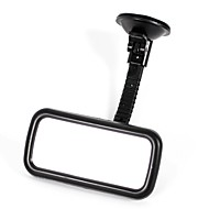 Black Suction Cup Curve Car Rear View Mirror Windscreen Blind Spot Parking Rearview