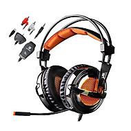 Sades Magic Crystal Kopfhörer (Kopfband)ForMedia Player/Tablet PC / ComputerWithMit Mikrofon / DJ / Lautstärkeregler / FM-Radio / Spielen