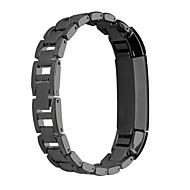 Недорогие Аксессуары для смарт-часов-Ремешок для часов для Fitbit Alta Fitbit Классическая застежка Нержавеющая сталь Повязка на запястье