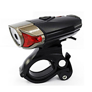 preiswerte Taschenlampen, Laternen & Lichter-Fahrradlicht Radlichter - Radsport Wasserfest, Einfach zu tragen, Mehrere Modi Knopfzell-Batterien 400 lm USB / Batterie Radsport
