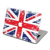 1 stk Ridsnings-Sikker Flag Transparent plastik Klistermærke Ultratynd Mat Mønster ForMacBook Pro 15'' with Retina MacBook Pro 15 ''