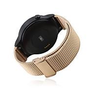 Zwart / roze / Goud / Zilver Roestvast staal Sportband Voor Huawei Horloge 18mm