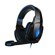 cheap Headsets & Headphones-Gaming headphone G4000 Stereo Noise Cancelling Gaming Headset Mic HiFi Driver LED Light for PC