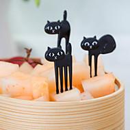 abordables Cubertería-Plástico Tenedor para ensalada Tenedores Otros