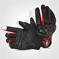 olcso -Teljes ujj GUMI Pamut Gumi Motorkerékpár kesztyűk