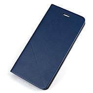 Недорогие Чехлы и кейсы для Samsung-Кейс для Назначение SSamsung Galaxy Samsung Galaxy S7 Edge Бумажник для карт со стендом Флип Чехол Сплошной цвет Твердый Кожа PU для S7