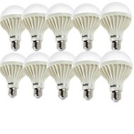 お買い得  LED ボール型電球-YouOKLight 10個 2W 140-180lm E26 / E27 LEDボール型電球 A60(A19) 9 LEDビーズ SMD 5630 装飾用 温白色 クールホワイト 220-240V