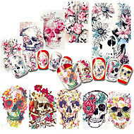 voordelige -Nail Art Sticker Nail Art Design Make-up Sticker Watertransfer decals