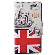 Для Кейс для  Samsung Galaxy Кошелек / Бумажник для карт / со стендом / Флип / Рельефный / С узором / Магнитный Кейс для Чехол Кейс для