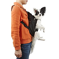cheap Pet Supplies-Cat Dog Carrier & Travel Backpack Front Backpack Pet Baskets Solid Portable Breathable Black Orange Red Blue Pink For Pets